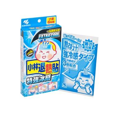 小林製藥 - 小林退熱貼(特強冰感) - 6'S