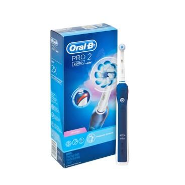 ORAL-B - PRO2000 充電電動牙刷-藍色 - PC