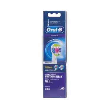 ORAL-B - EB18-2 專業美白刷頭(新舊包裝隨機發貨) - 2'S
