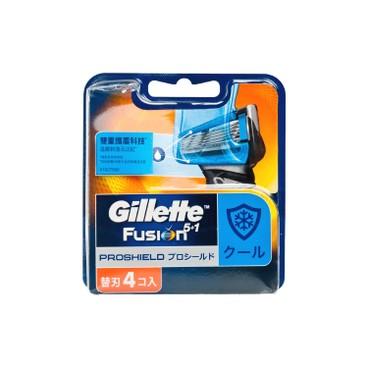 GILLETTE - Fusion Proshield Chill Blades - 4'S