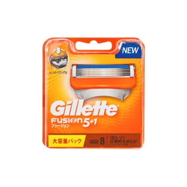 GILLETTE - Fusion Manual 5 1 Blades - 8'S