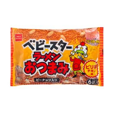 童星 - 奧艾雪花生點心麵-辣味 - 150G