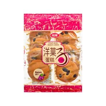 四洲 - 洋果子提子蛋糕 - 120G