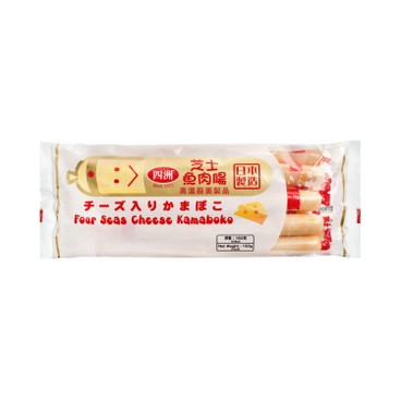 FOUR SEAS - Cheese Kamaboko Fishsausage - 160G