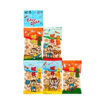 旺旺 - 旺仔小饅頭 (五連包) - 16GX5