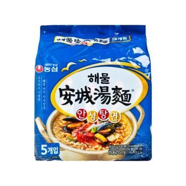 NONG SHIM - Ansungtangmyun seafood Flavor - 112GX5