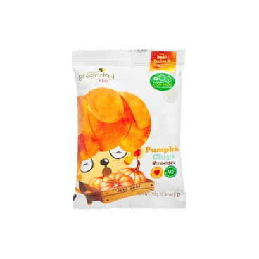 GREENDAY - Happy Fruit Farm pumpkin Chips - 12G