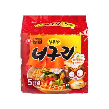 NONG SHIM - Neoguri Spicy Multi Pack - 120GX5