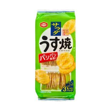 KAMEDA - Yaki Salad Flavored Rice Cracker - 85G