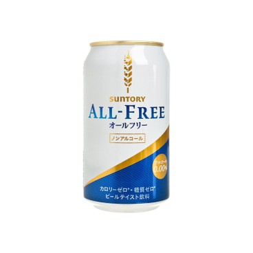 SUNTORY BEER - ALL FREE DRINK - 350ML