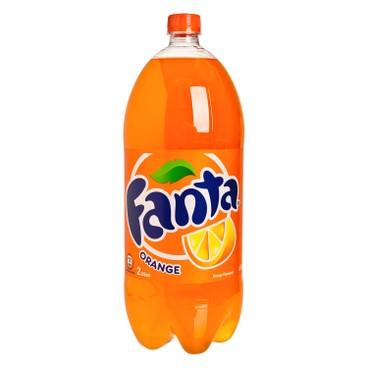 COCA-COLA - Orange Flavoured Soda - 2L