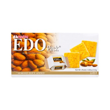 EDO PACK - Almond Cracker - 133G