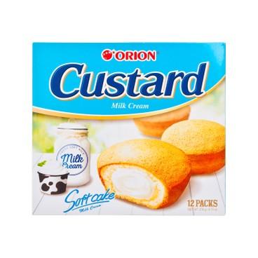 ORION - CAKE-CUSTARD MILK - 12'S