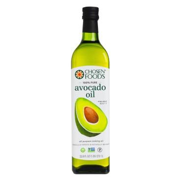 CHOSEN FOODS - Chosen Foods 100 Pure Avocado Oil - 1L