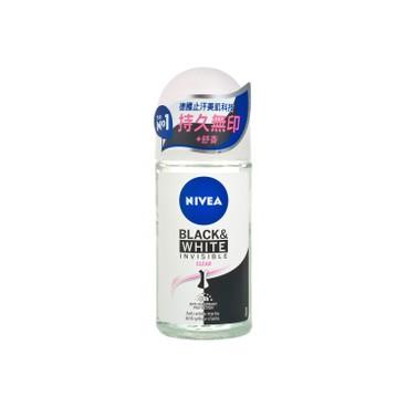 NIVEA - DEO INVISIBLE BLACK & WHITE CLEAR RO - 50ML