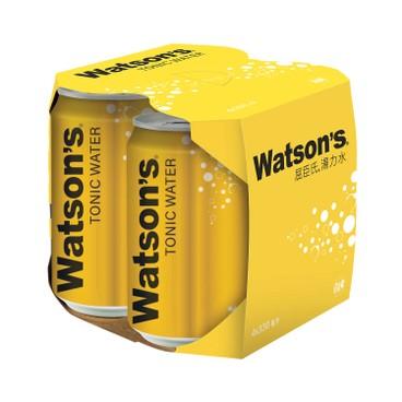 WATSONS - Tonic Water - 330MLX4