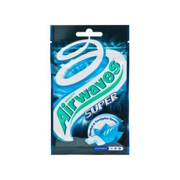 AIRWAVES - Sugarfree Chewing Gum super Mint - 18'S