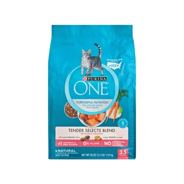 ONE - 乾貓糧 - 脆嫩三文魚配方 - 3.5LB