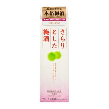 CHOYA 蝶矢 - 淡雅梅酒 - 1L