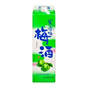 鶯宿梅 - 梅酒 - 1.8L