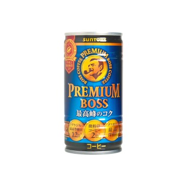 SUNTORY - Premium Boss Coffee - 185ML
