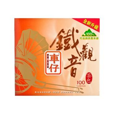 RICKSHAW - CHINESE TEABAGS-IRON BUDDHA - 1.6GX100