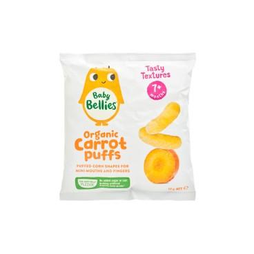 LITTLE BELLIES - 有機嬰兒泡芙-紅蘿蔔 - 12G