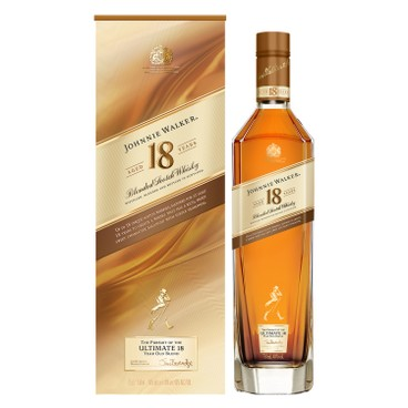 JOHNNIE WALKER - AGED 18 YEARS OLD WHISKY - 75CL