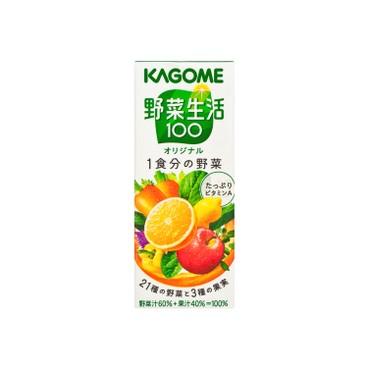 KAGOME - 蔬菜混合汁 - 200ML