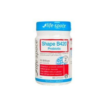 LIFE SPACE - B 420 Probiotic - 60'S