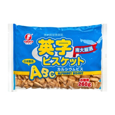 TAKARA - Alphabet Biscuit high Calcium - 260G