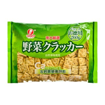 TAKARA - Vegetable Biscuit high Calcium - 260G