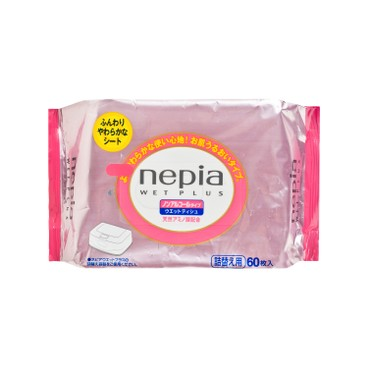NEPIA - Wet Plus Refill - 60'S