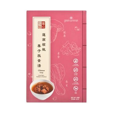 GREEN COMMON - 即飲湯-蓮藕核桃栗子燉湯 - 400G