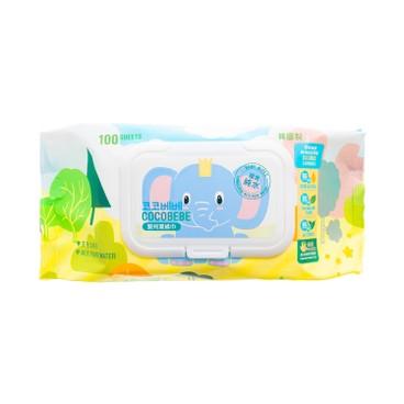 COCOBEBE - Elephant Baby Wet Wipes - 100'S