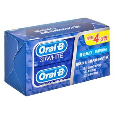 ORAL-B - TP 3DW LIME MINT - 120GX4
