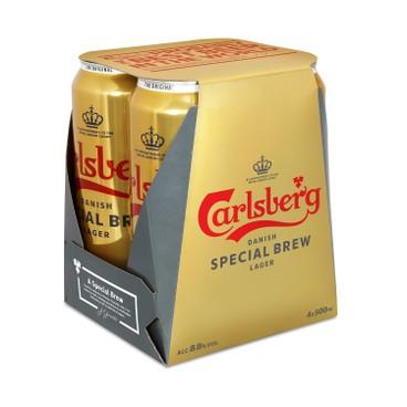 嘉士伯 - 金牌啤酒 (巨罐裝) - 500MLX4