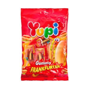 YUPI - 橡皮糖-熱狗 - 96G