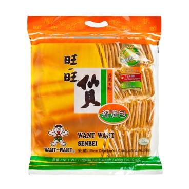 旺旺 - 仙貝 (經濟包) - 400G