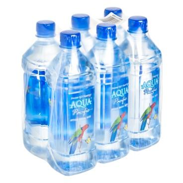 AQUA PACIFIC 太平洋水 - 天然礦泉水 - 600MLX6
