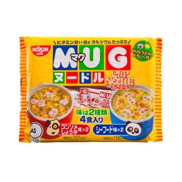 日清 - 杯仔麵-醬油及海鮮味 - 94G