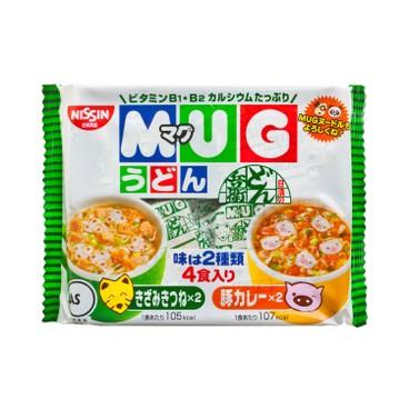 日清 - 杯仔麵-腐皮及咖喱味 - 94G