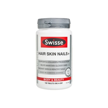 SWISSE(PARALLEL IMPORT) - ULTIBOOST HAIR SKIN NAILS - 100'S