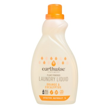 EARTHWISE - Laundry Liquid Orange Eucalyptus - 1L
