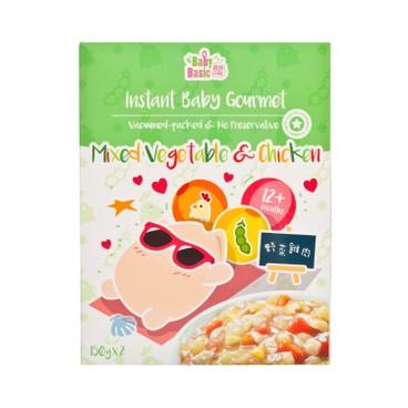 寶寶百味 - 即食米米餸 - 野菜雞肉 - 300G