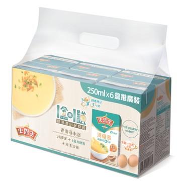 史雲生 - 清雞湯 (6包優惠裝) - 250MLX6