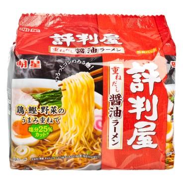 明星 - 拉麵-評判屋-醬油味 - 430G