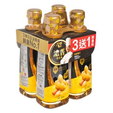 刀嘜 - 金裝濃香花生油 (優惠裝) - 900MLX4