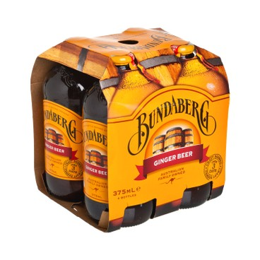 BUNDABERG - Ginger Beer - 4'S