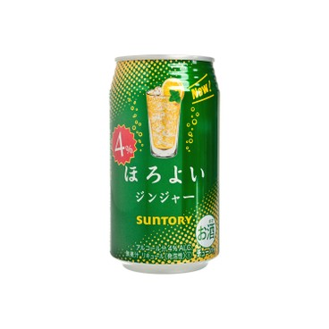 SUNTORY - Horoyoi Chuhai Drink ginger Ale - 350ML